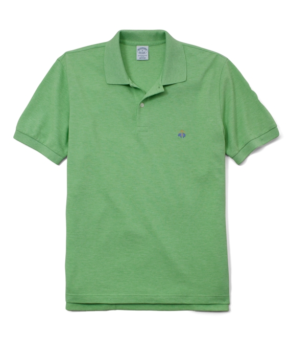 Golden Fleece® Slim Fit Performance Polo Shirt Lime Heather
