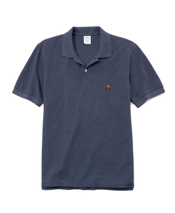 Golden Fleece® Slim Fit Performance Polo Shirt Navy Heather