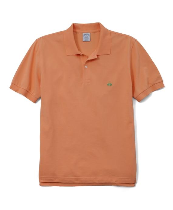 Golden Fleece® Slim Fit Performance Polo Shirt Orange Sherbert
