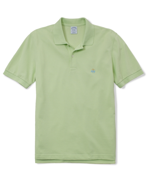 Golden Fleece® Slim Fit Performance Polo Shirt Pale Lime