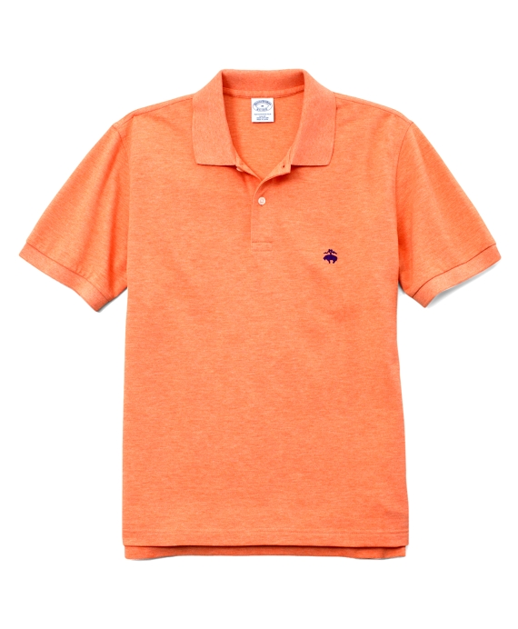 Golden Fleece® Slim Fit Performance Polo Shirt Pale Orange Heather