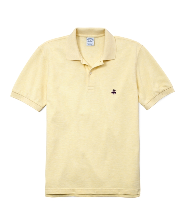 Golden Fleece® Slim Fit Performance Polo Shirt Yellow Heather