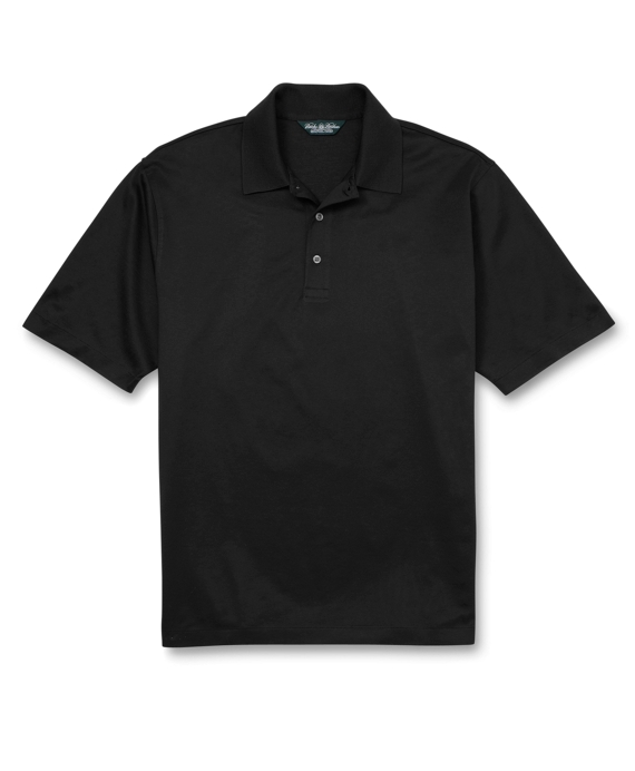 Country Club Lisle Polo Shirt Black
