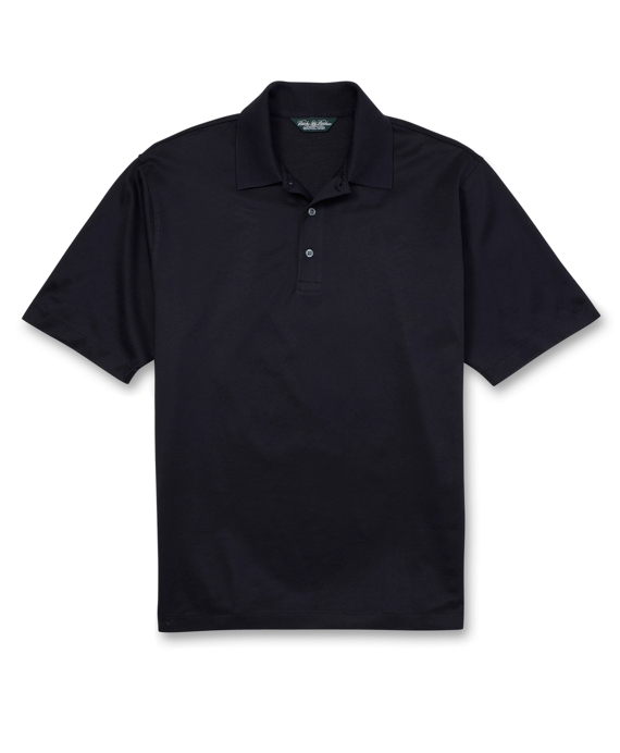 Country Club Lisle Polo Shirt Navy