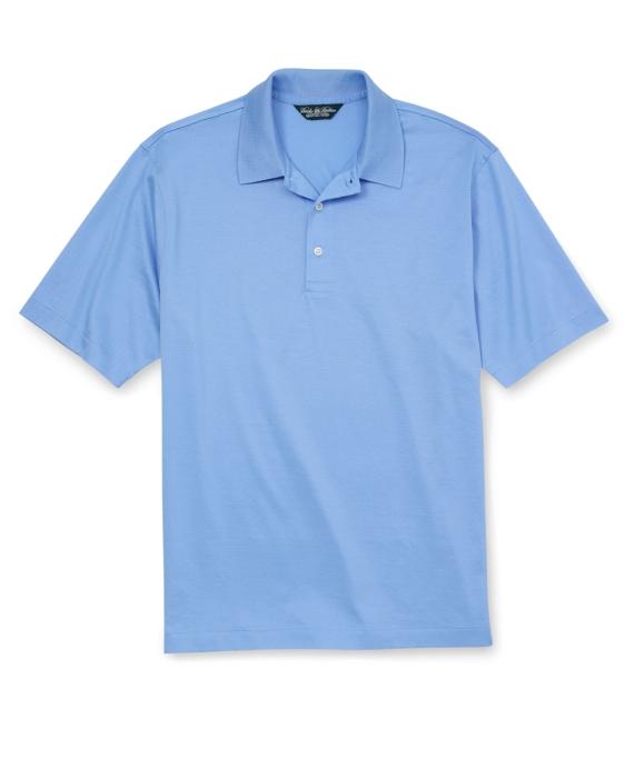 Country Club Lisle Polo Shirt Vista Blue