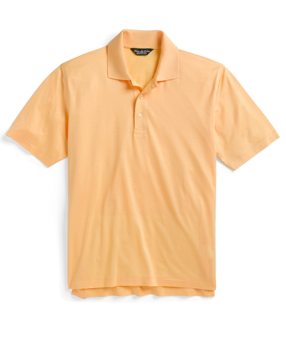 Country Club Lisle Polo Shirt Yellow