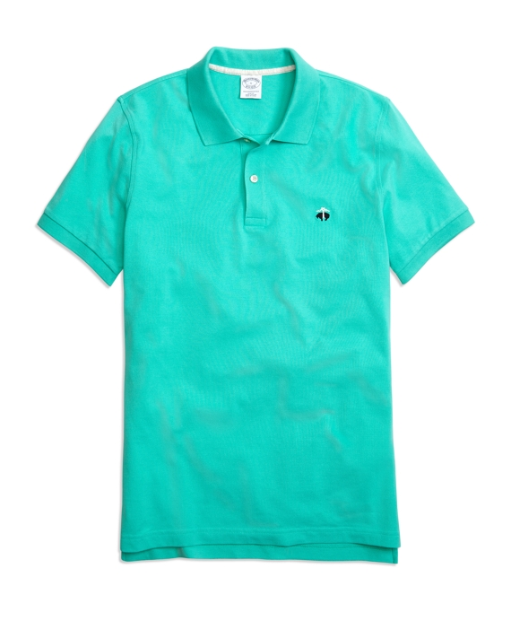 Golden Fleece® Slim Fit Performance Polo Shirt Turquoise
