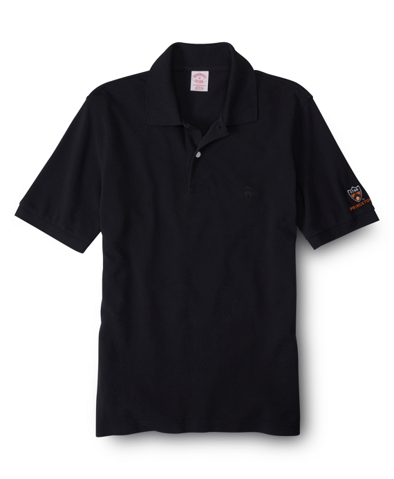 Princeton University Tonal Golden Fleece® Performance Polo Black