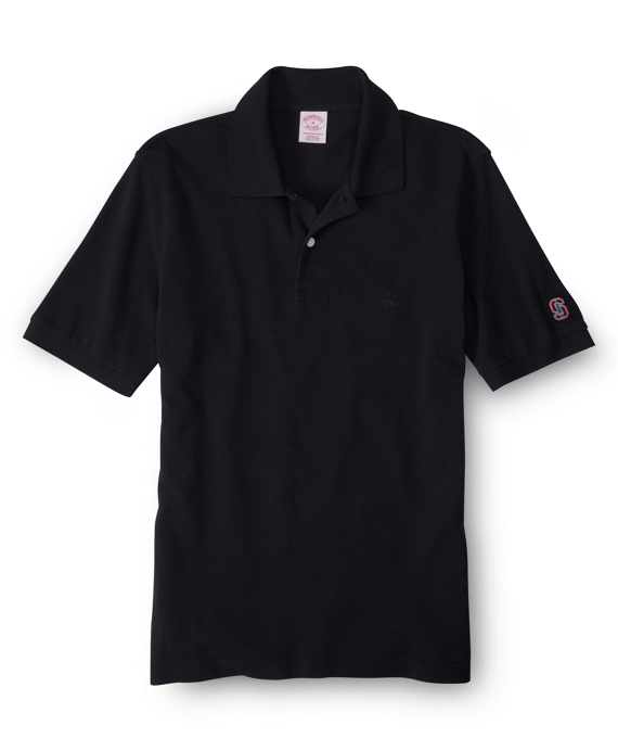 Stanford University Tonal Golden Fleece® Performance Polo Black