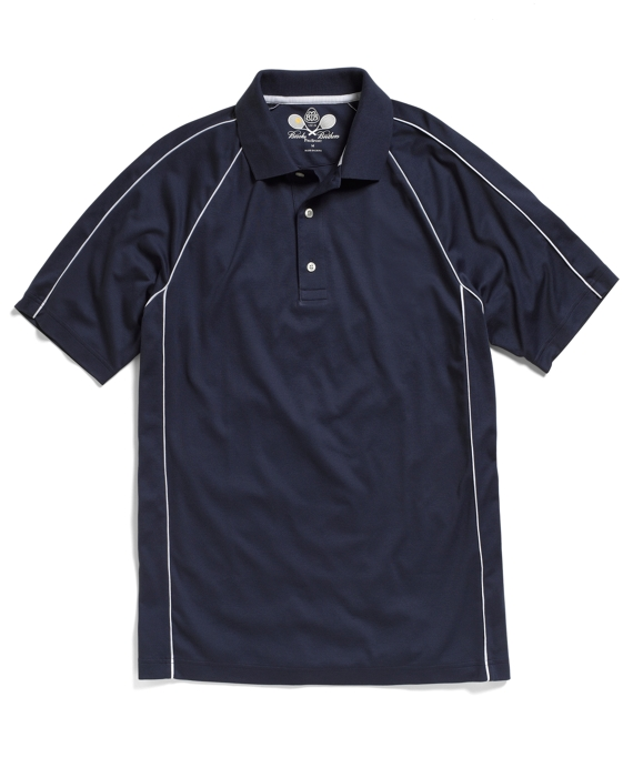 Prosport® Raglan Tennis Polo Shirt Navy
