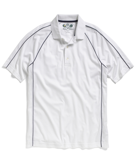 ProSport® Raglan Tennis Polo Shirt White