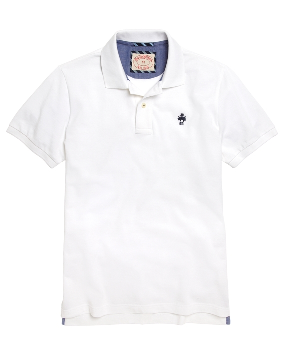 Solid Polo Shirt White