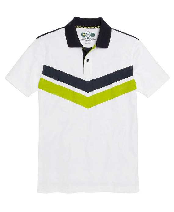 Prosport® Tennis Polo Shirt White