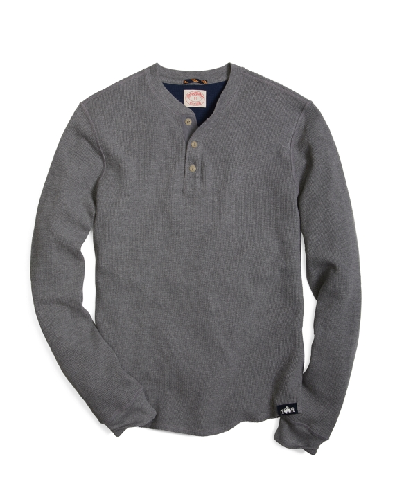 Thermal Henley Heather Grey