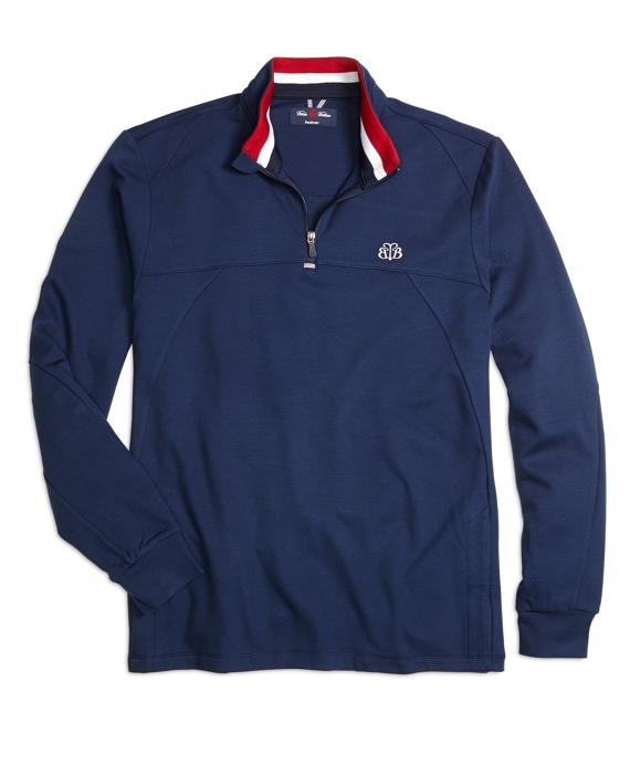 ProSport® Starboard Half-Zip Sweatshirt Navy