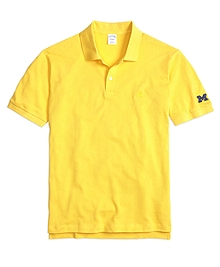 University of Michigan Slim Fit Polo