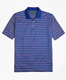 St. Andrews Links Multistripe Polo Shirt
