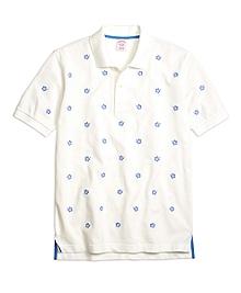 Original Fit Hibiscus Print Polo Shirt
