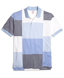 Original Fit Color-Block Polo Shirt