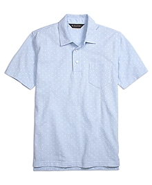 Original Fit Mini Print Polo Shirt