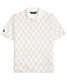 St Andrews Links Argyle Polo Shirt