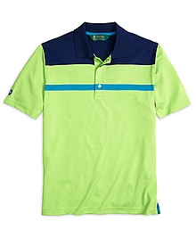St Andrews Links Color-Block Polo Shirt