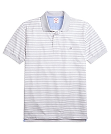 Original Fit Two-Tone Stripe Polo