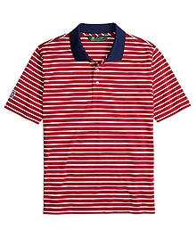 St Andrews Links Bar Stripe Polo Shirt