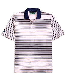 St Andrews Links Multistripe Polo Shirt