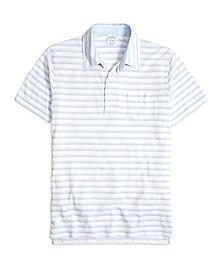 Slim Fit Thin Stripe Polo Shirt