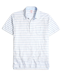 Original Fit Thin Stripe Polo Shirt