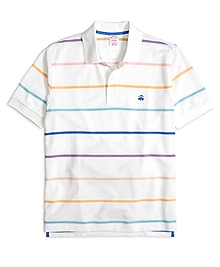 Original Fit Wide Stripe Polo Shirt