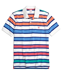 Original Fit Large Framed Stripe Polo Shirt