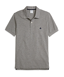 Slim Fit Heathered Polo Shirt