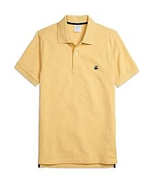 Slim Fit Heathered Polo Shirt