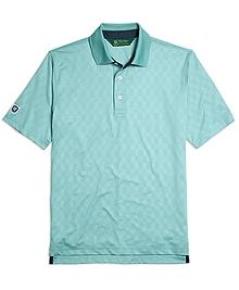 St Andrews Links Embossed Polo Shirt