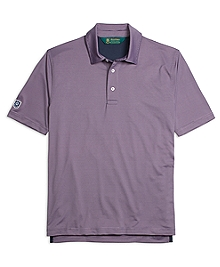 St Andrews Links Stripe Polo Shirt