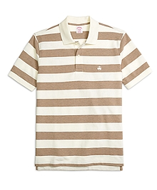 Original Fit Wide Bar Stripe Polo Shirt