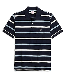 Original Fit Multistripe Polo Shirt