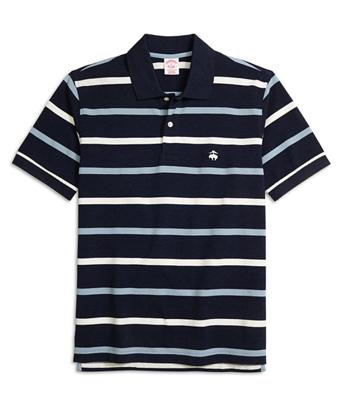 Original Fit Multistripe Polo Shirt