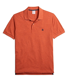 Original Fit Heathered Polo Shirt