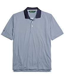 St Andrews Links Houndstooth Polo Shirt