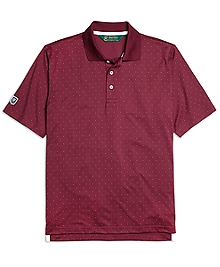 St Andrews Links Dot Polo Shirt