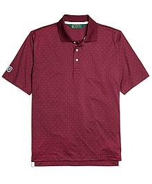 St Andrews Links Dot Polo Shirt