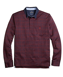 Windowpane Rugby Shirt
