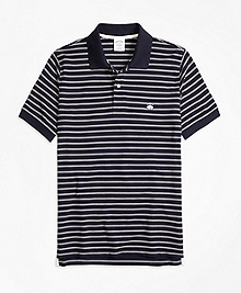 Golden Fleece® Slim Fit Performance Stripe Polo Shirt