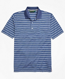 St. Andrews Links Stripe Golf Polo Shirt