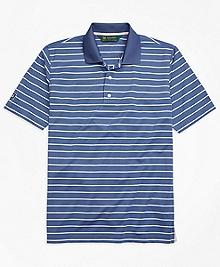 St. Andrews Links Stripe Golf Polo Shirt