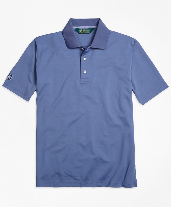 St. Andrews Links Golf Polo Shirt Blue