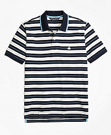 Original Fit Tipped Collar Stripe Polo Shirt